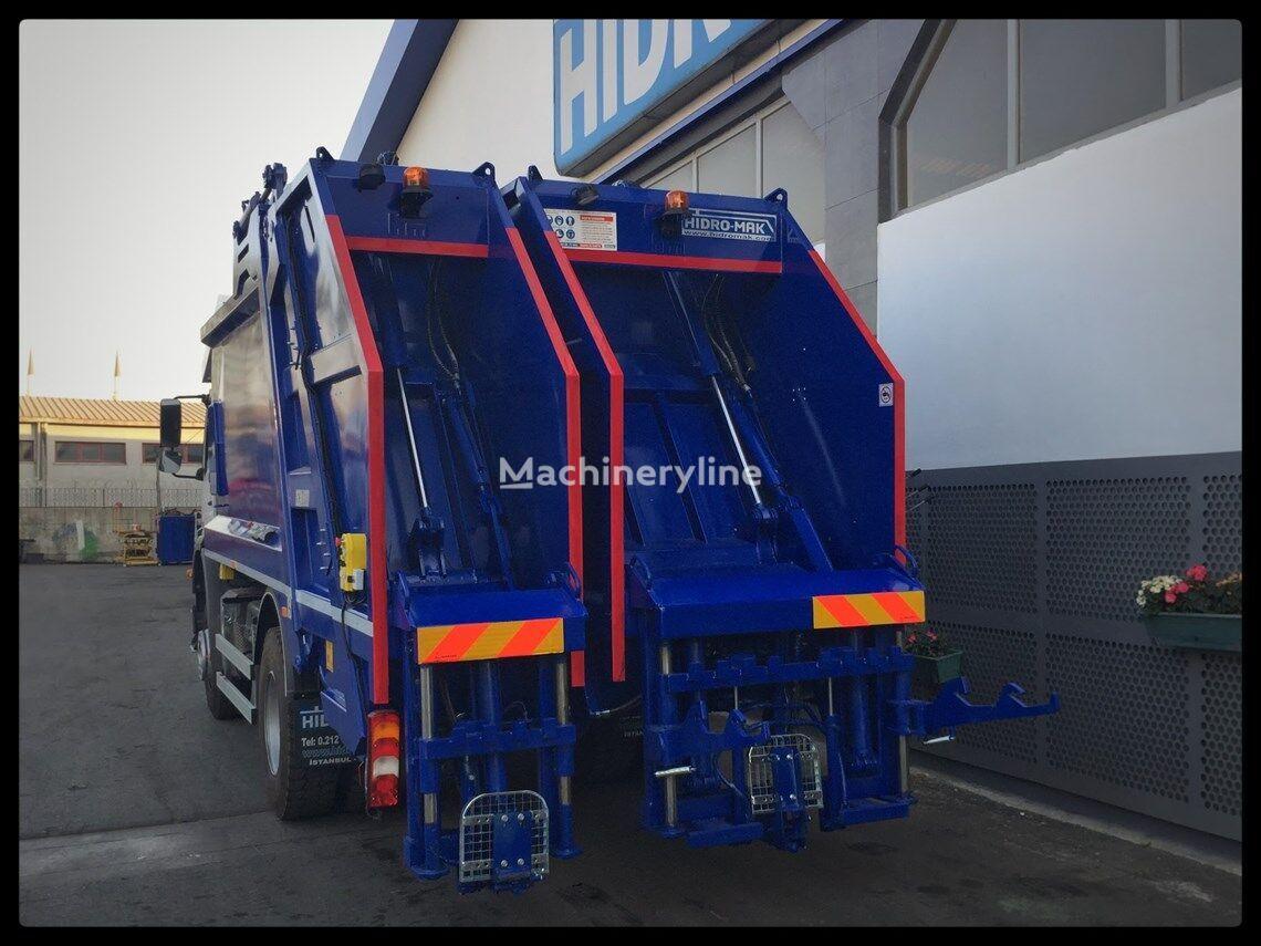 новый кузов мусоровоза HİDRO-MAK Çift Bölmeli Hidrolik Sıkıştırmalı Çöp Kasası (ECOTWiN)