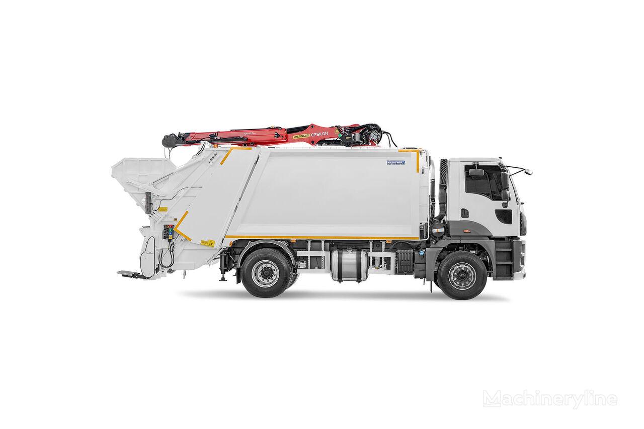 новый кузов мусоровоза HİDRO-MAK Üstten Vinçli Hidrolik Sıkıştırmalı Çöp Kasası