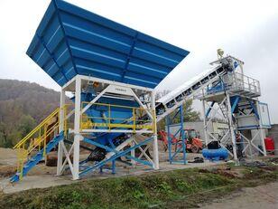 новый бетонный завод PROMAX Compact Concrete Batching Plant PROMAX C60-SNG-PLUS (60m³/h)