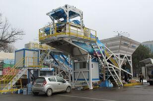 новый бетонный завод PROMAX Mobile Concrete Batching Plant M100-TWN (100m3/h)