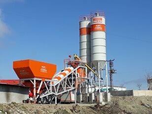 новый бетонный завод Plusmix 100 m³/hour Mobile Concrete Batching Plant - BETONYY ZAVOD - CEN