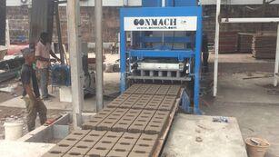 новое оборудование для производства бетонных блоков CONMACH BlockKing-25FSS Concrete Block Making Machine-10.000 units/shift